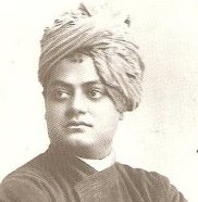 Swami Vivekananda at Chicago in 1893.