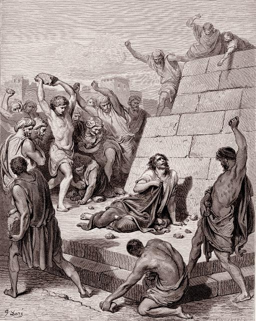 스데반의 순교 (귀스타브 도레, Gustave Dore, 1866년)