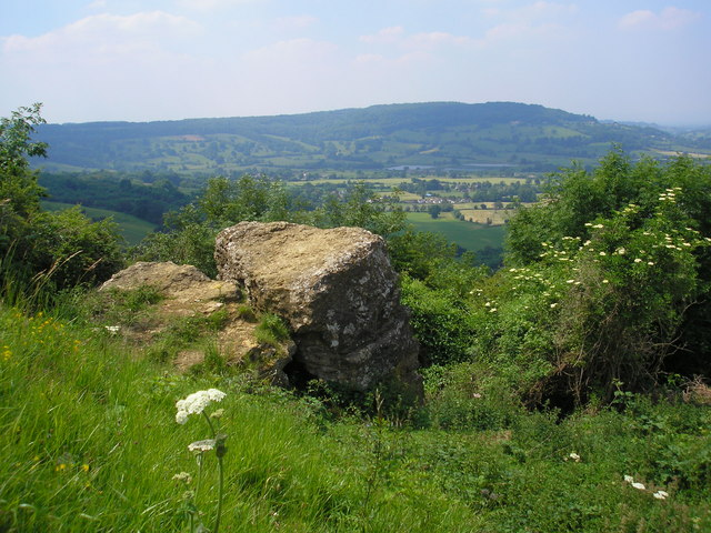 The Devil's Table, Crickley Hill Quarry, Gloucestershire - geograph.org.uk - 192782