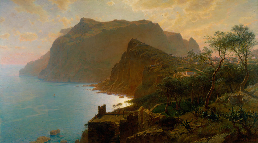 The_Sea_from_Capri_by_William_Stanley_Ha