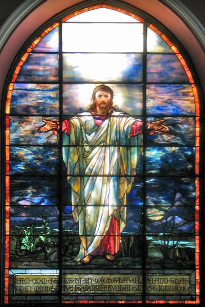 FileTiffany Jesus Window In Pullman Memorial Universalist Church