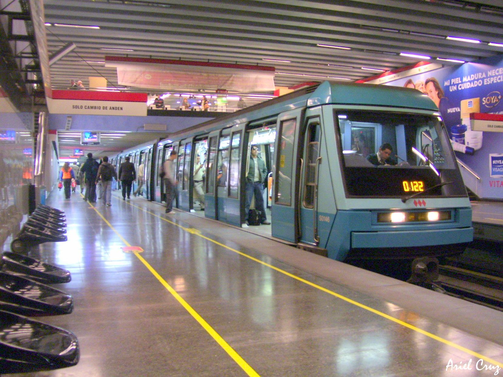 Metro de santiago wikipedia la enciclopedia libre for Mural metro u de chile