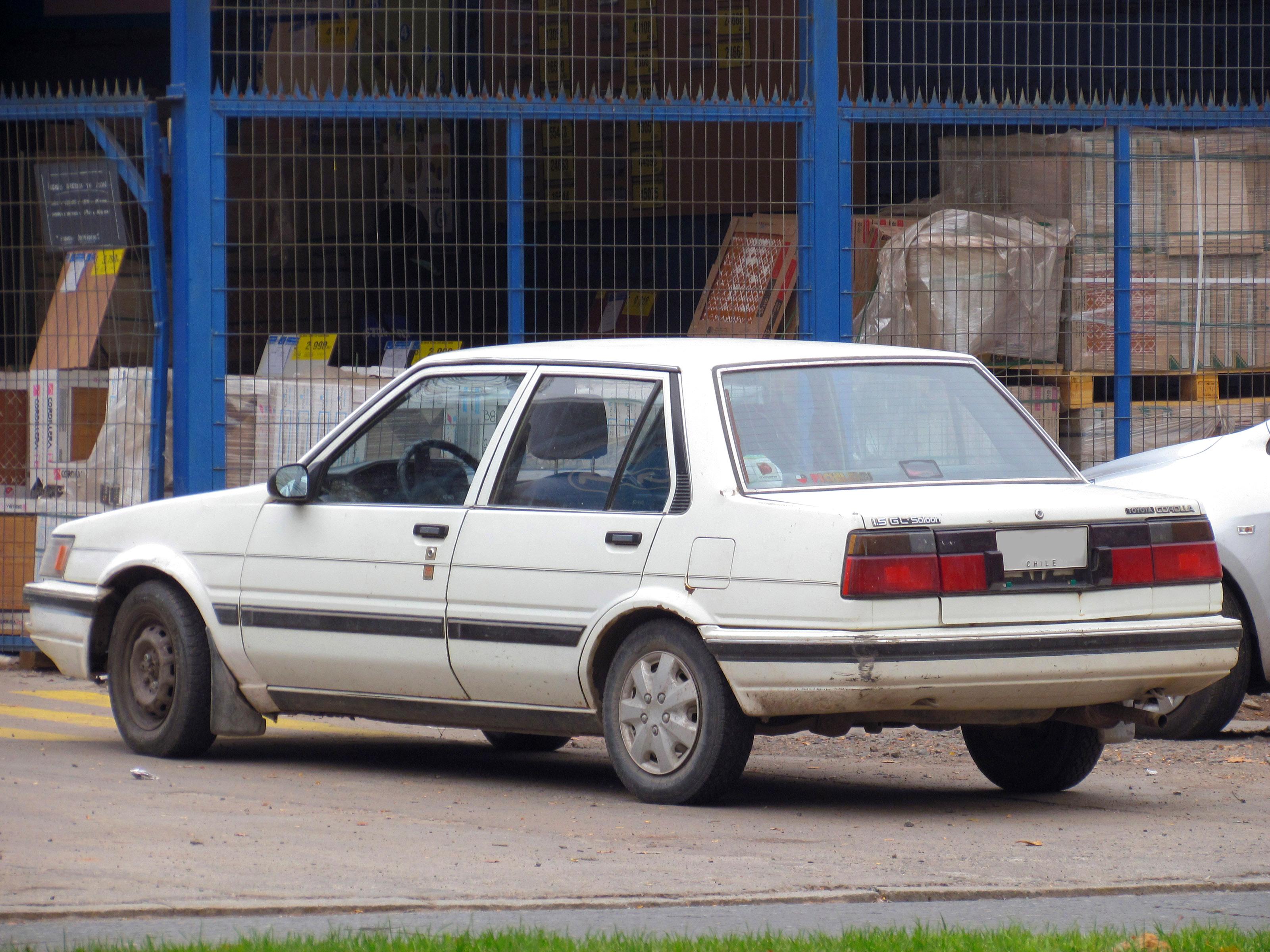 Kelebihan Toyota Corolla 1986 Top Model Tahun Ini
