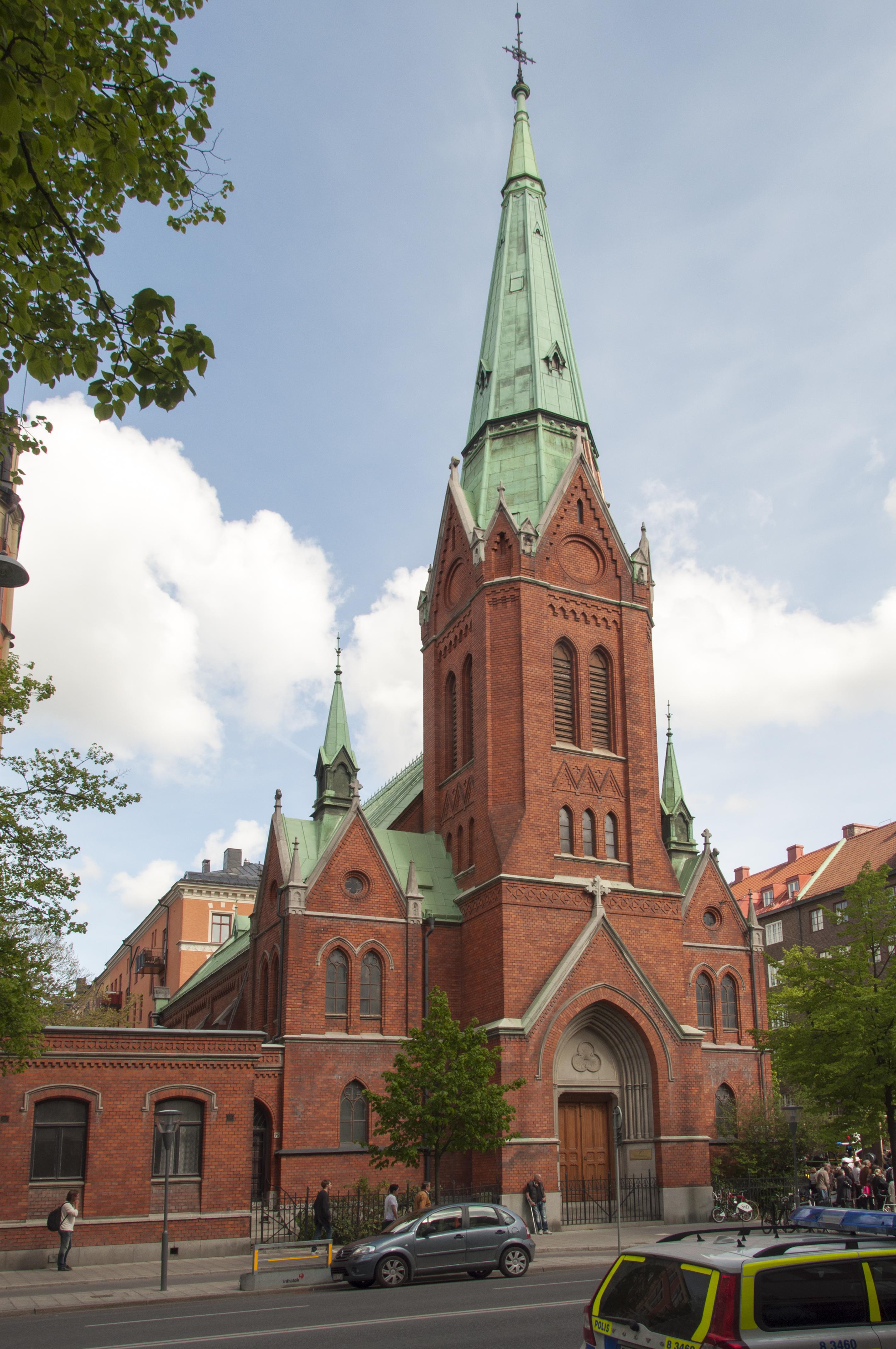 Bild av Sankt Georgios kyrka