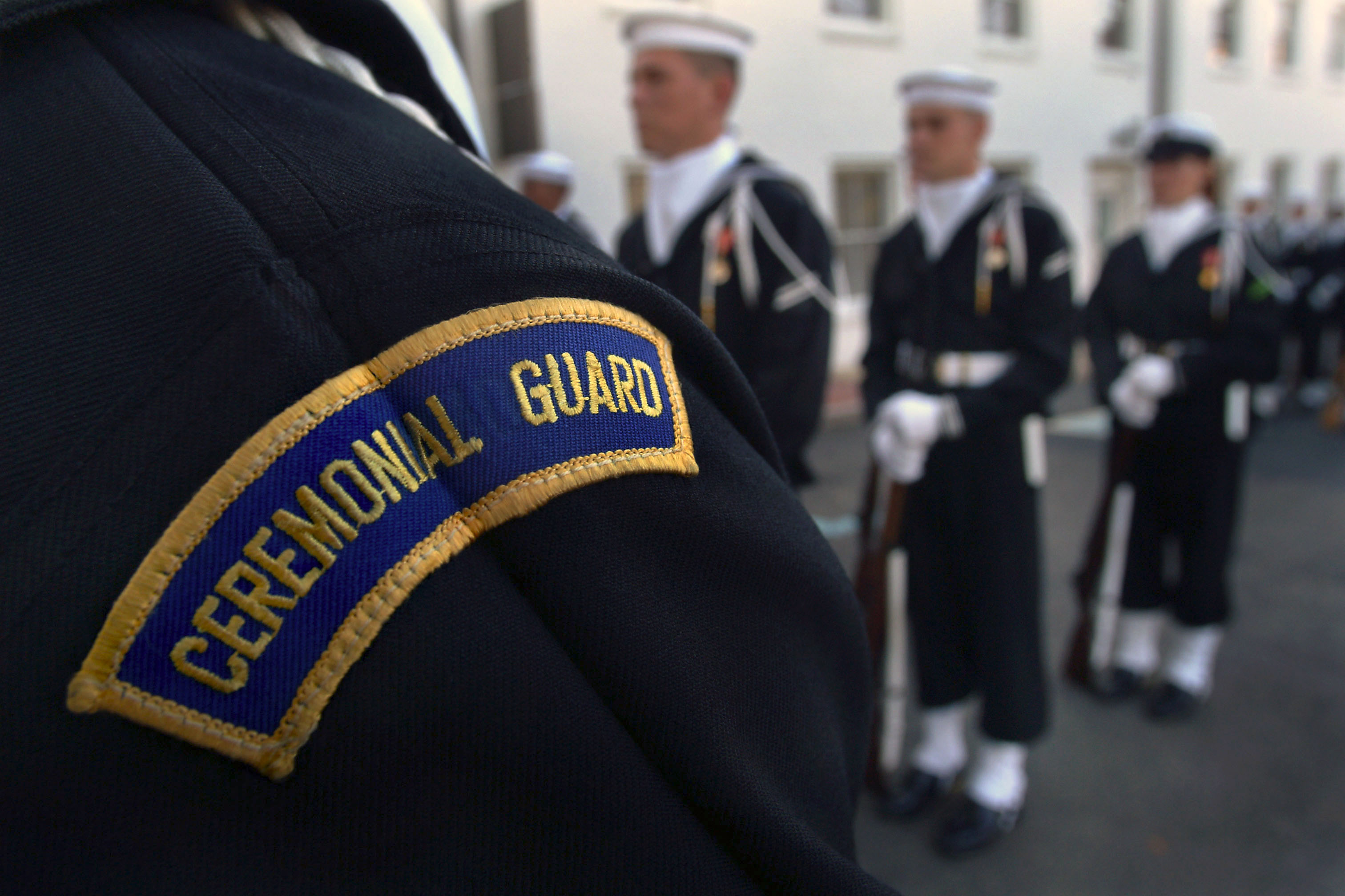 Fileus Navy 031024 N 2383b 003 Sailors Assigned To The Us - Us-navy-ceremonial-guard