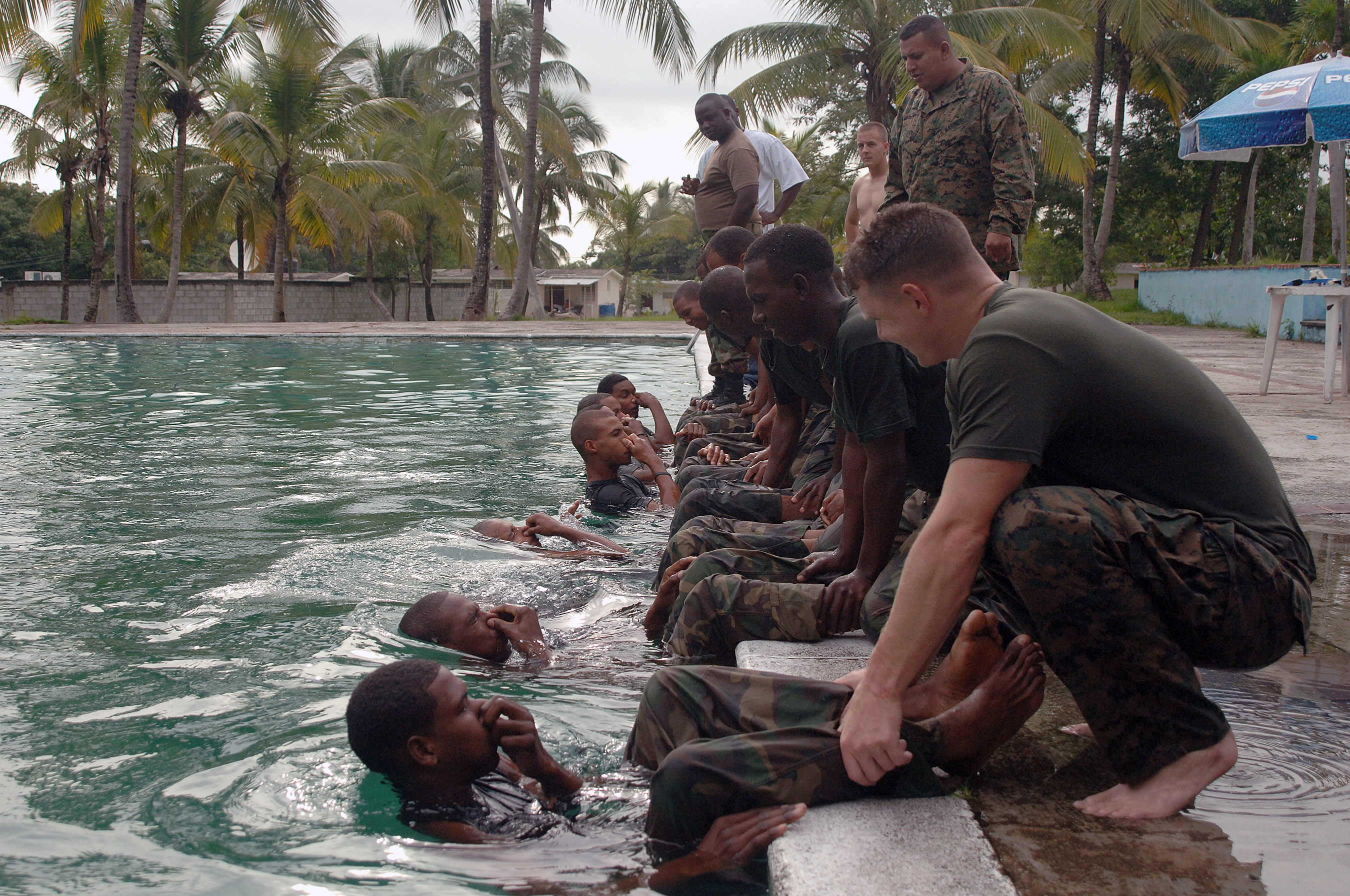 Marine Corps Water Training