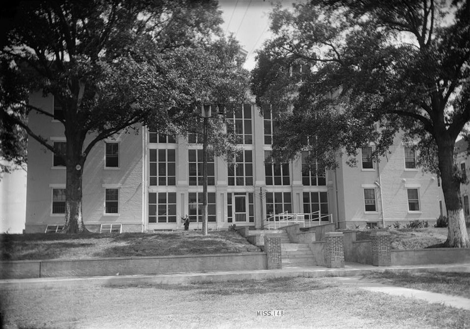 Natchez (MS) United States  city pictures gallery : Description United States Marine Hospital, Natchez, Mississippi