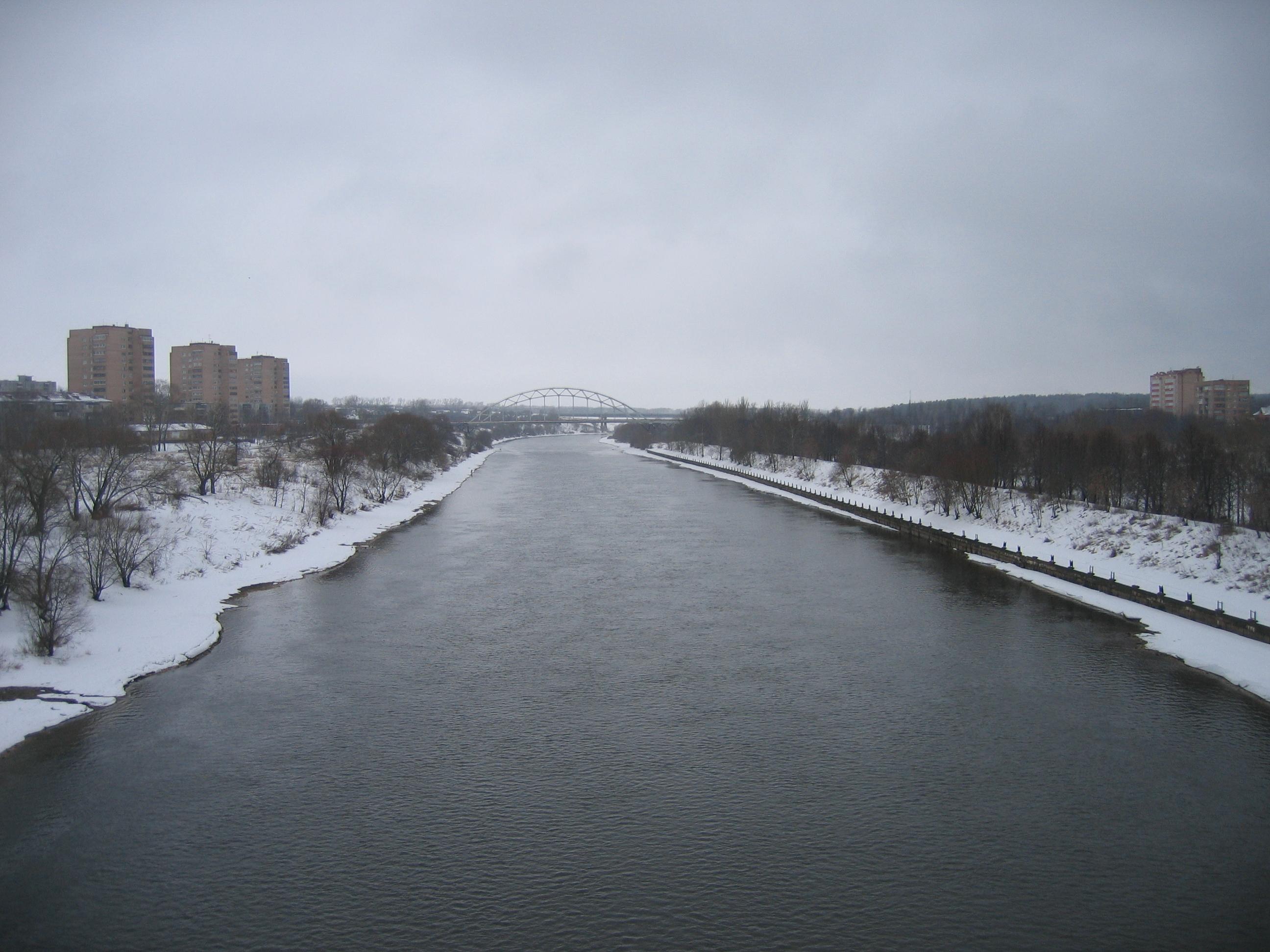 старые фото москва река г воскресенск