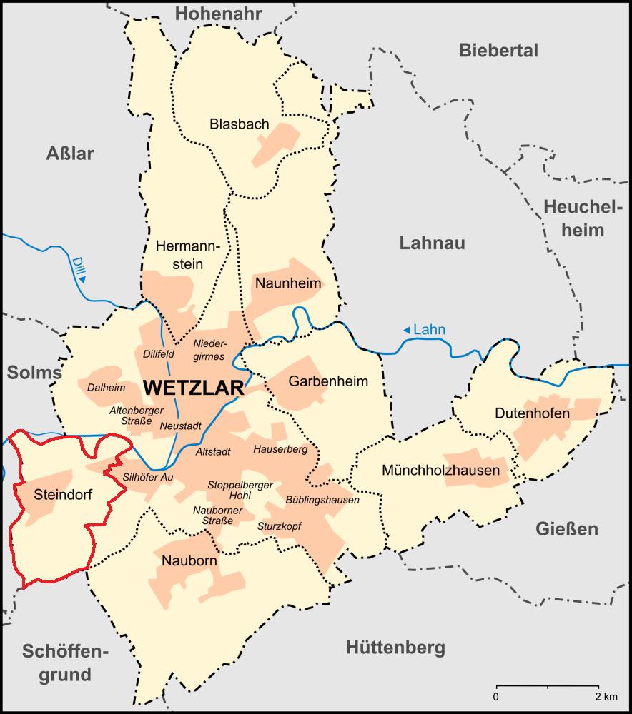 wetzlar karte Datei:Wetzlar Stadtteile Karte steindorf.png – Wikipedia wetzlar karte