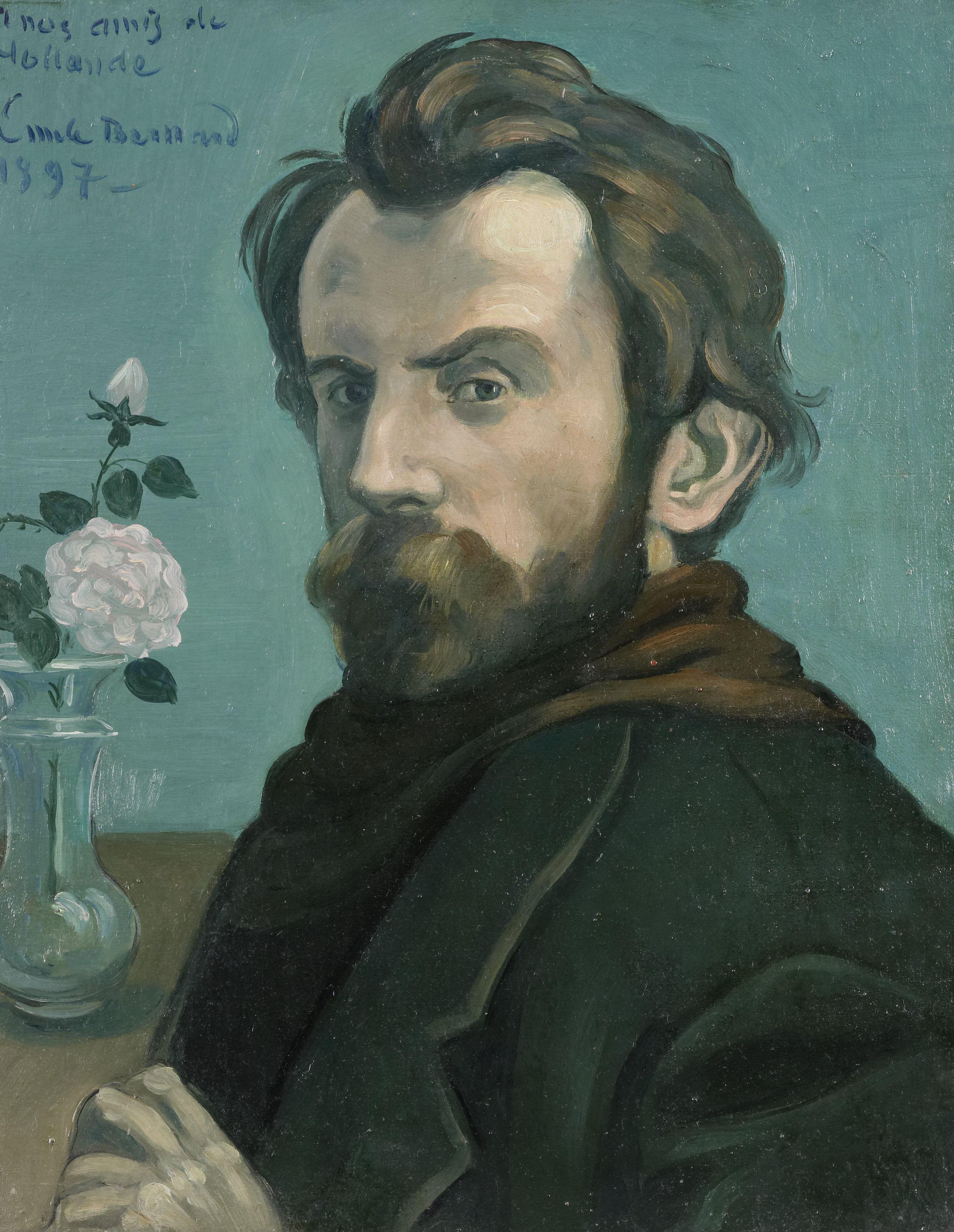 zelfportret van gogh rijksmuseum
