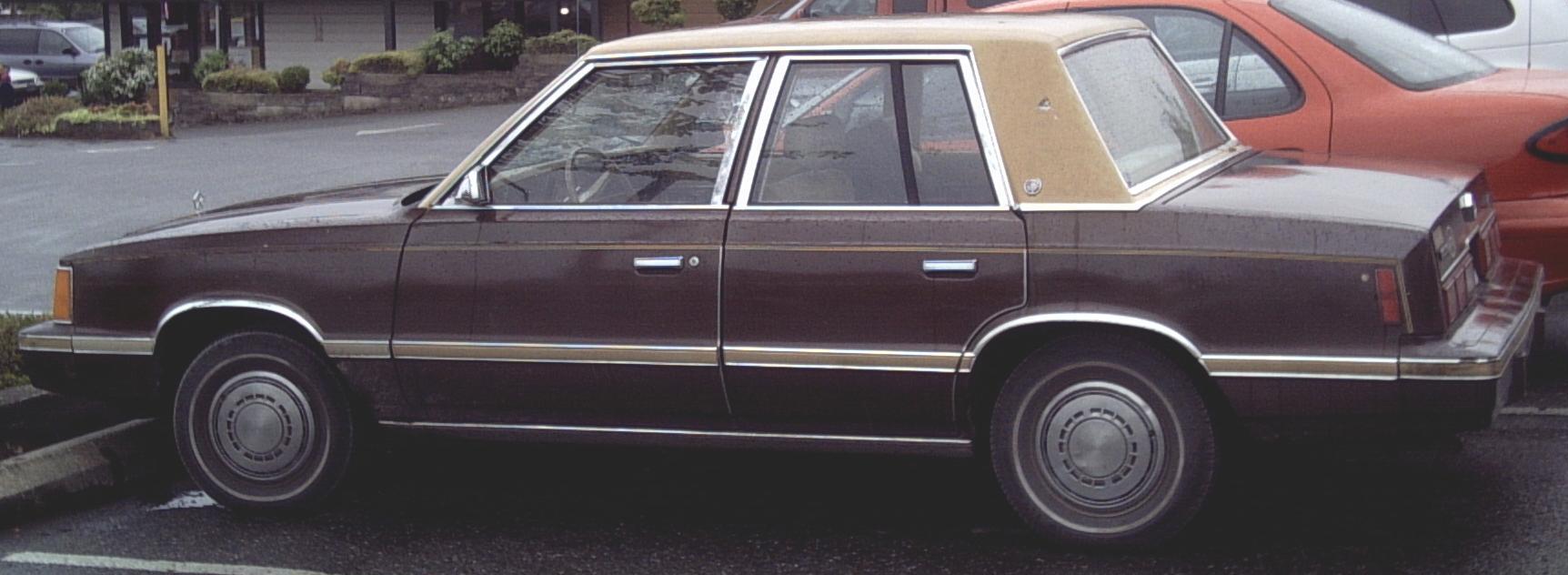 1984 dodge reliant