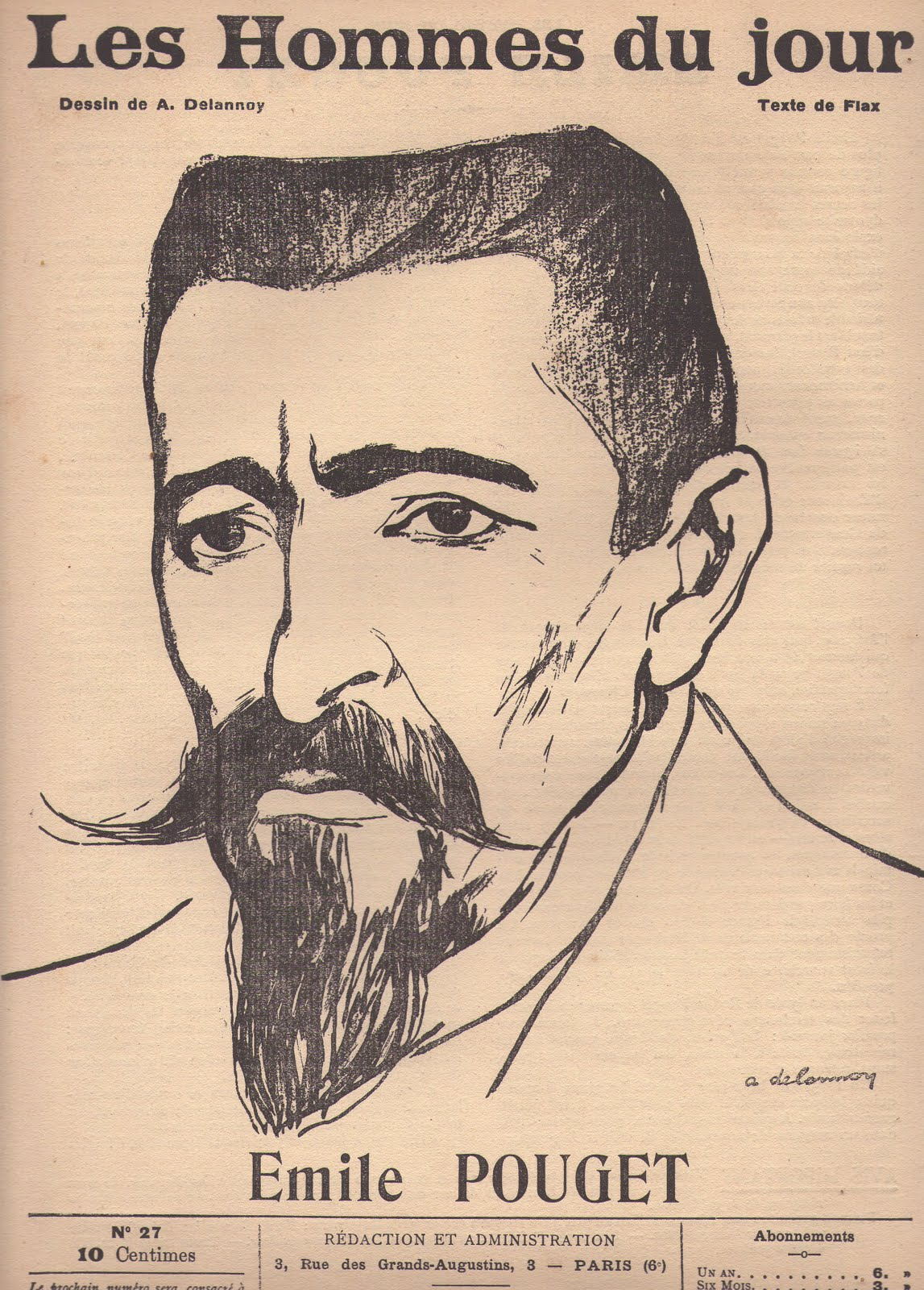 Portrait by [[Aristide Delannoy]]