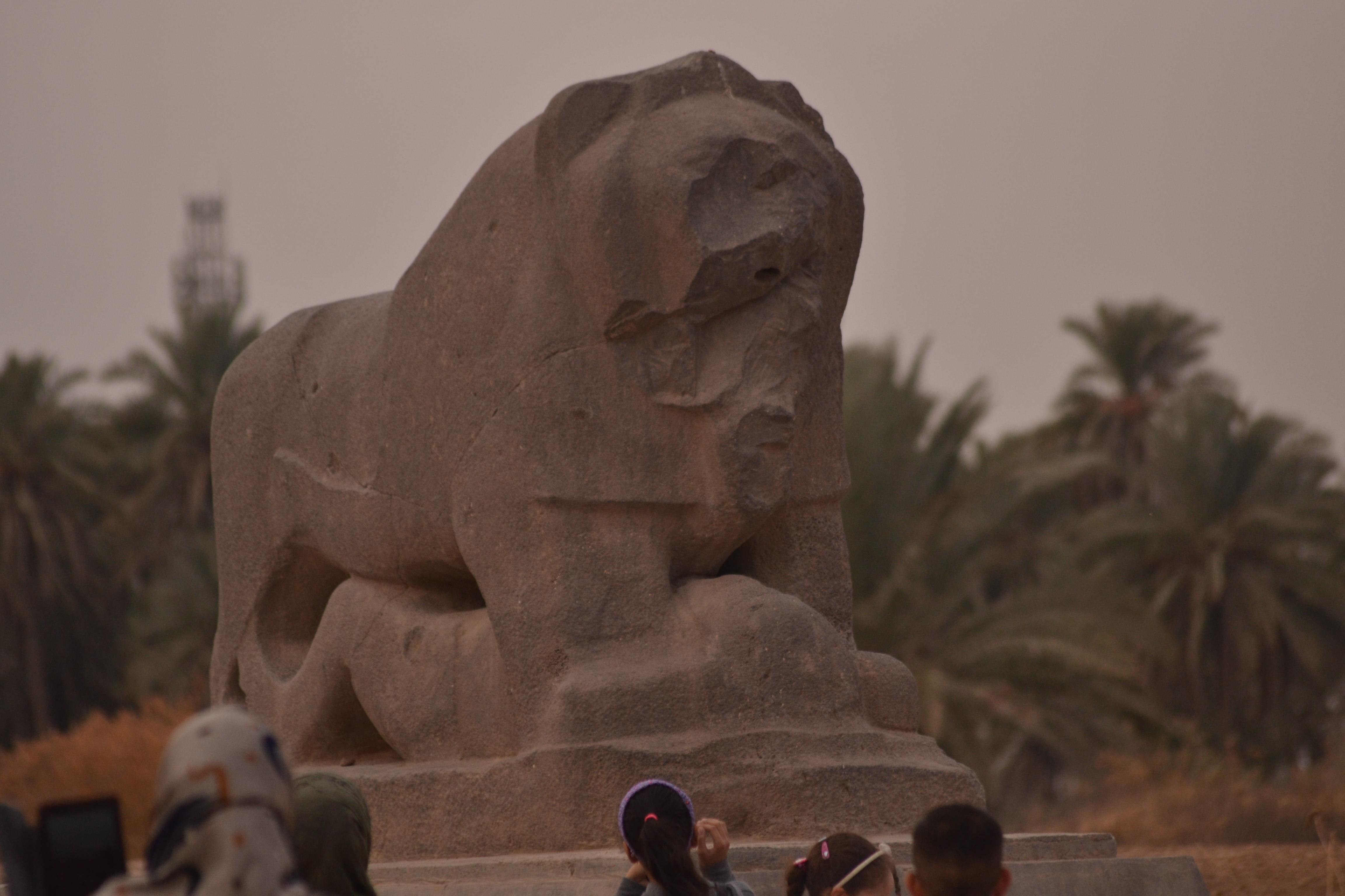 15c2c593a أسد بابل (تمثال) - ويكيبيديا، الموسوعة الحرة