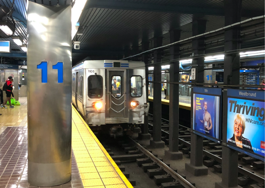 Is the l train running after midnight