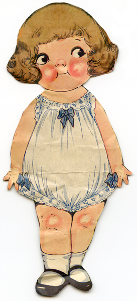 """English: Paper doll """"Dolly Dingle"""" a..."""