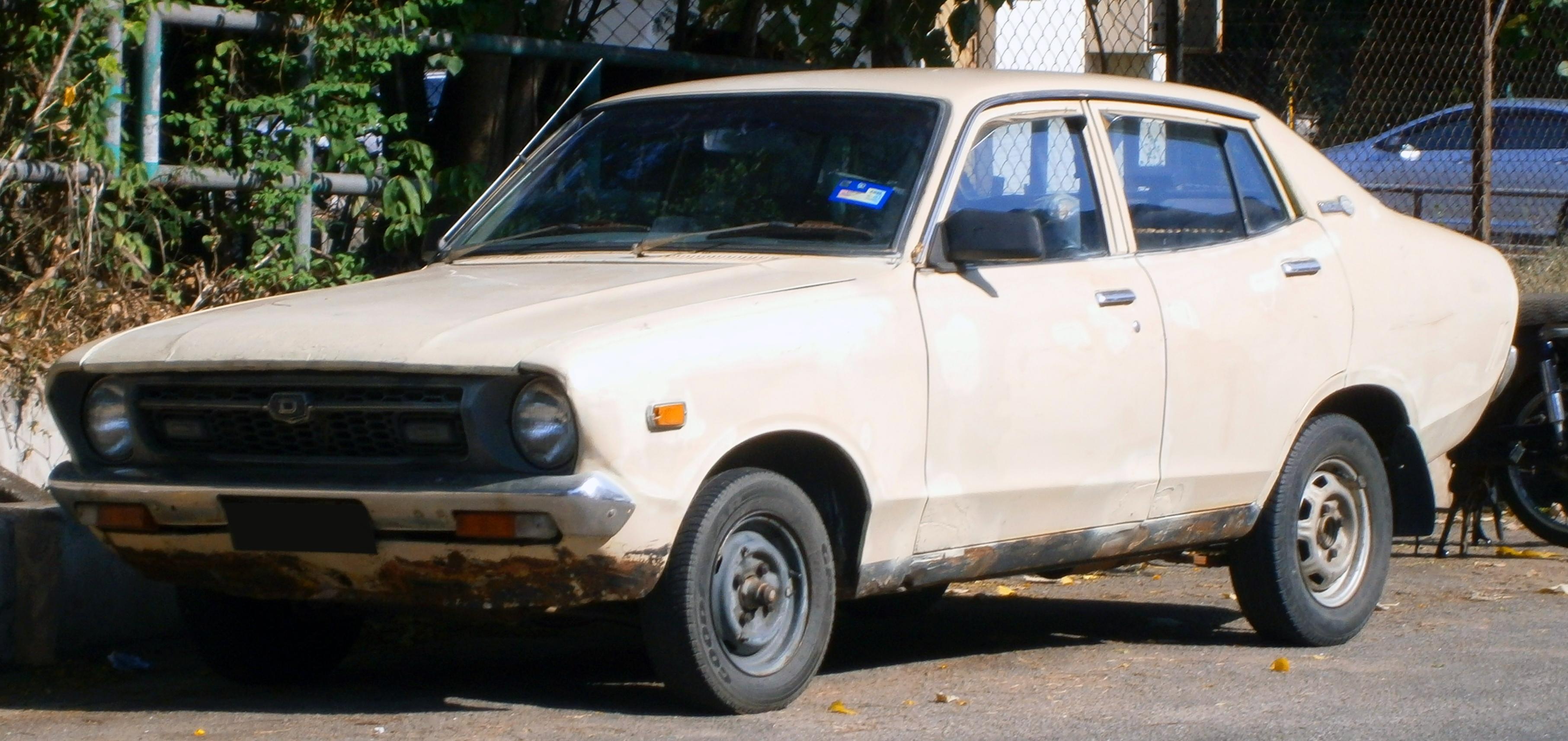 File 1973 1977 Datsun 120y B210 Saloon In Ipoh Malaysia