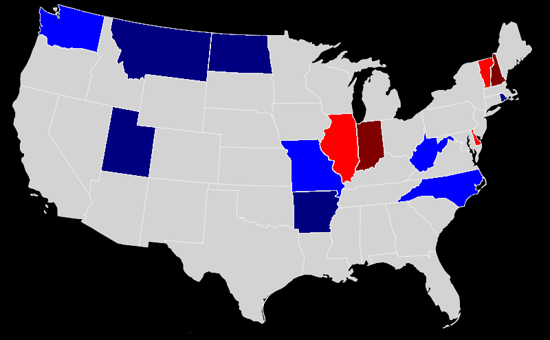 File1976 Governors Elections Mappng Wikimedia Commons - Us-governors-map