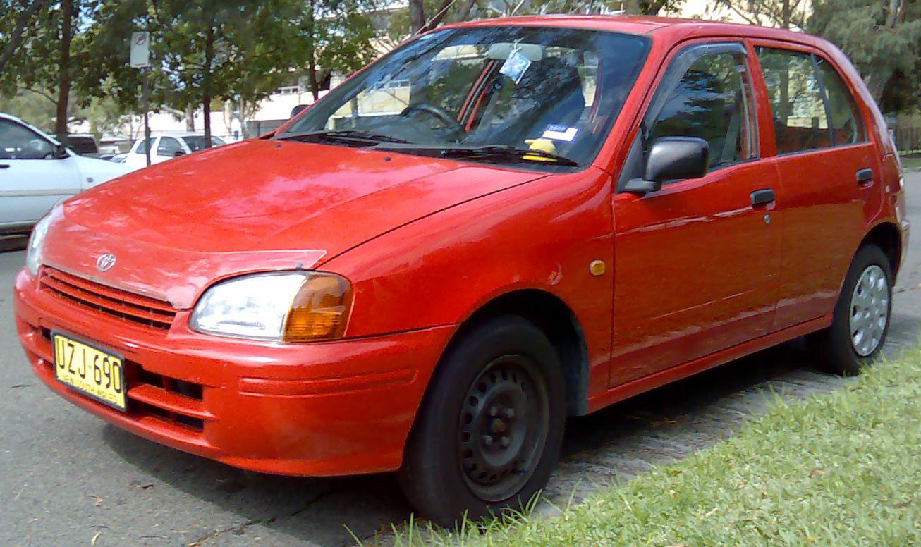 File 1998 Toyota Starlet Ep91r Life 5 Door Hatchback