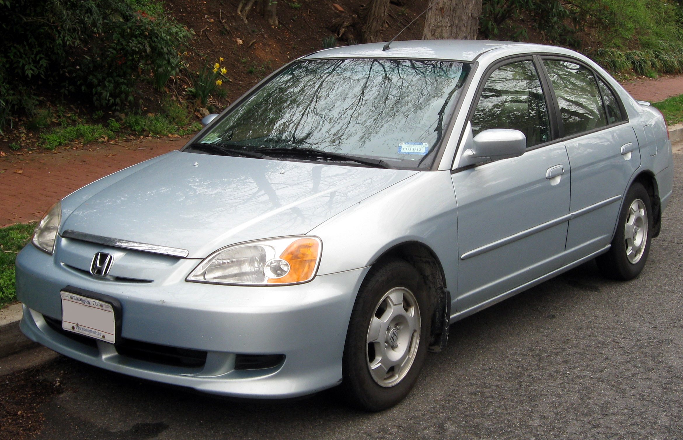 file 2003 honda civic hybrid 03 21 2012 jpg wikipedia. Black Bedroom Furniture Sets. Home Design Ideas