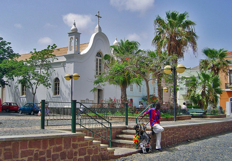 city center of mindelo