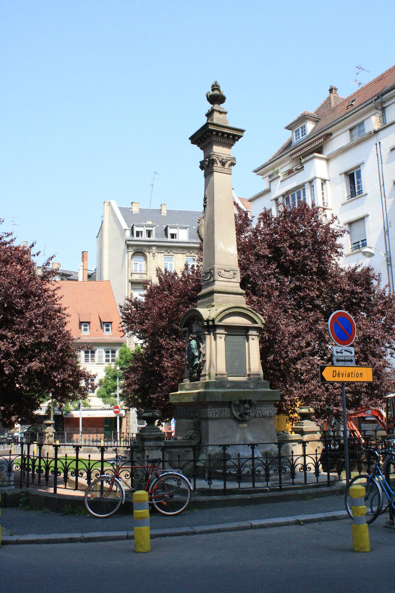 File a memorial in rue du jeu des enfants for Rue du miroir strasbourg