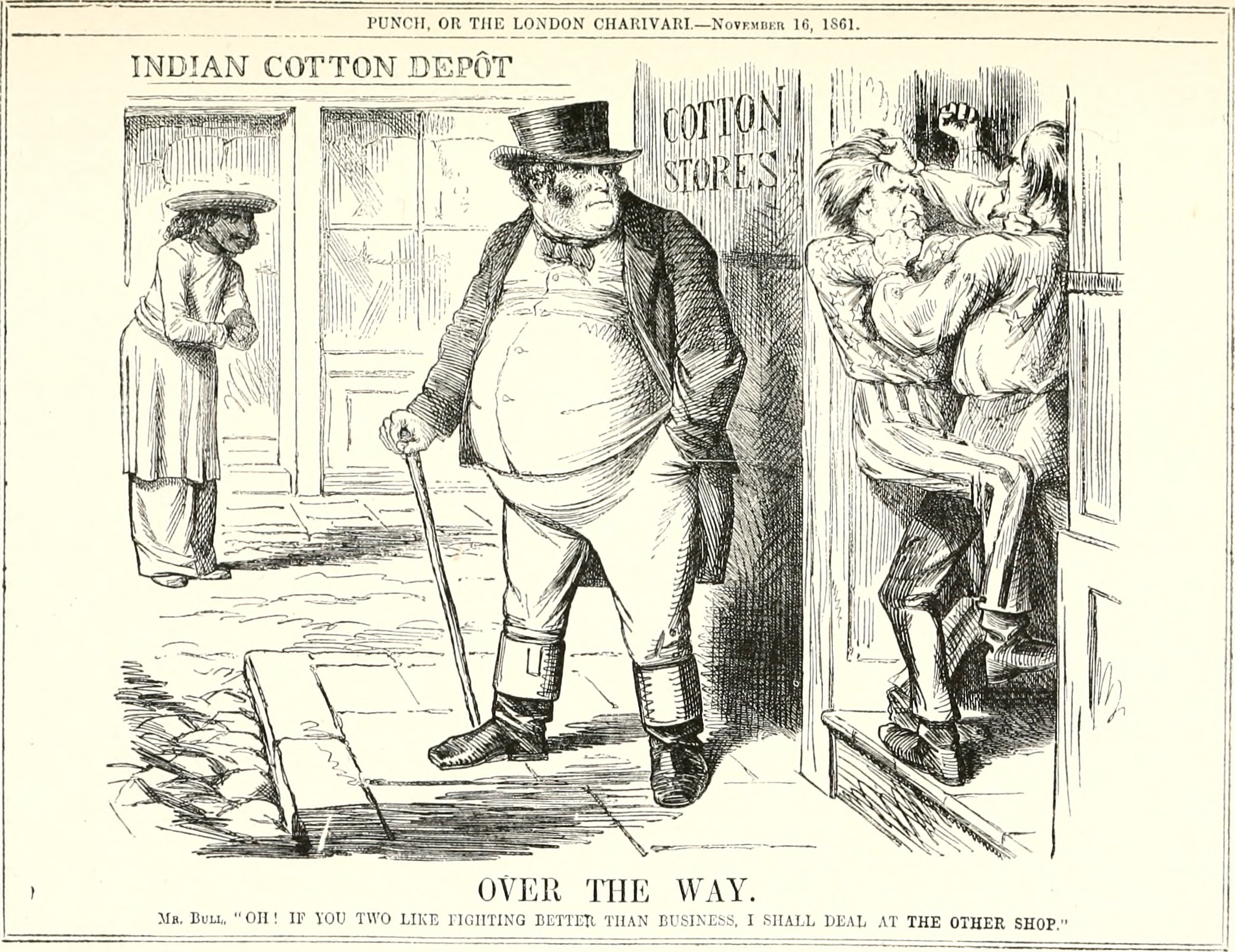 File Abraham Lincoln And The London Punch Cartoons Comments And