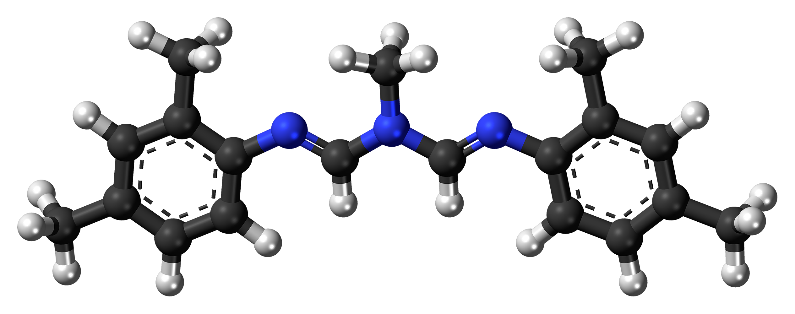 Model cząsteczki amitrazy