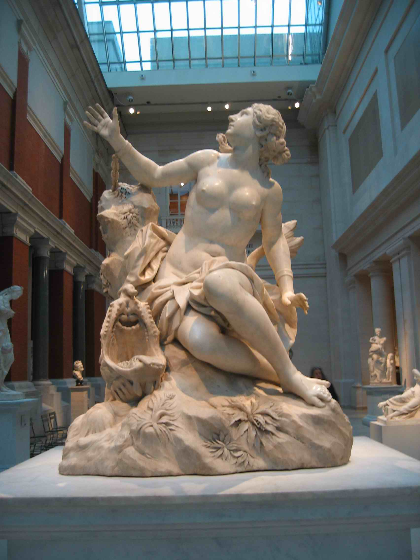 resourcesforhistoryteachers  domenico guidi andromeda metropolitan museum of art