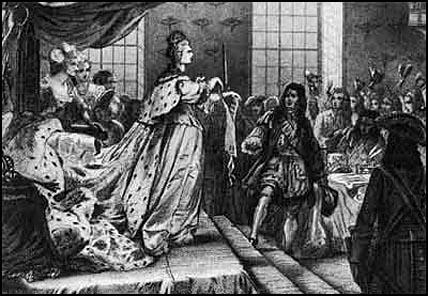 Анна Иоанновна разрывает Кондиции.