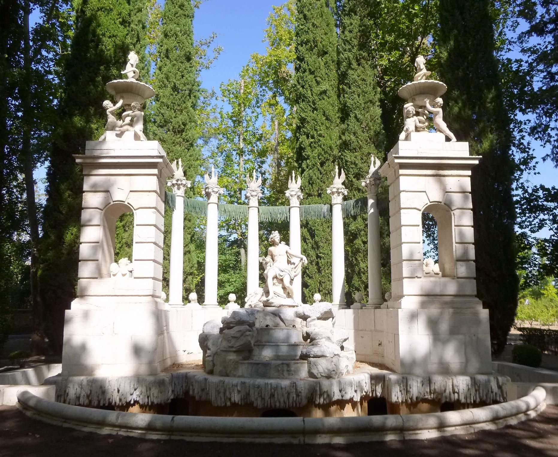 File aranjuez real sitio jard n del pr ncipe fuente de for El jardin del principe