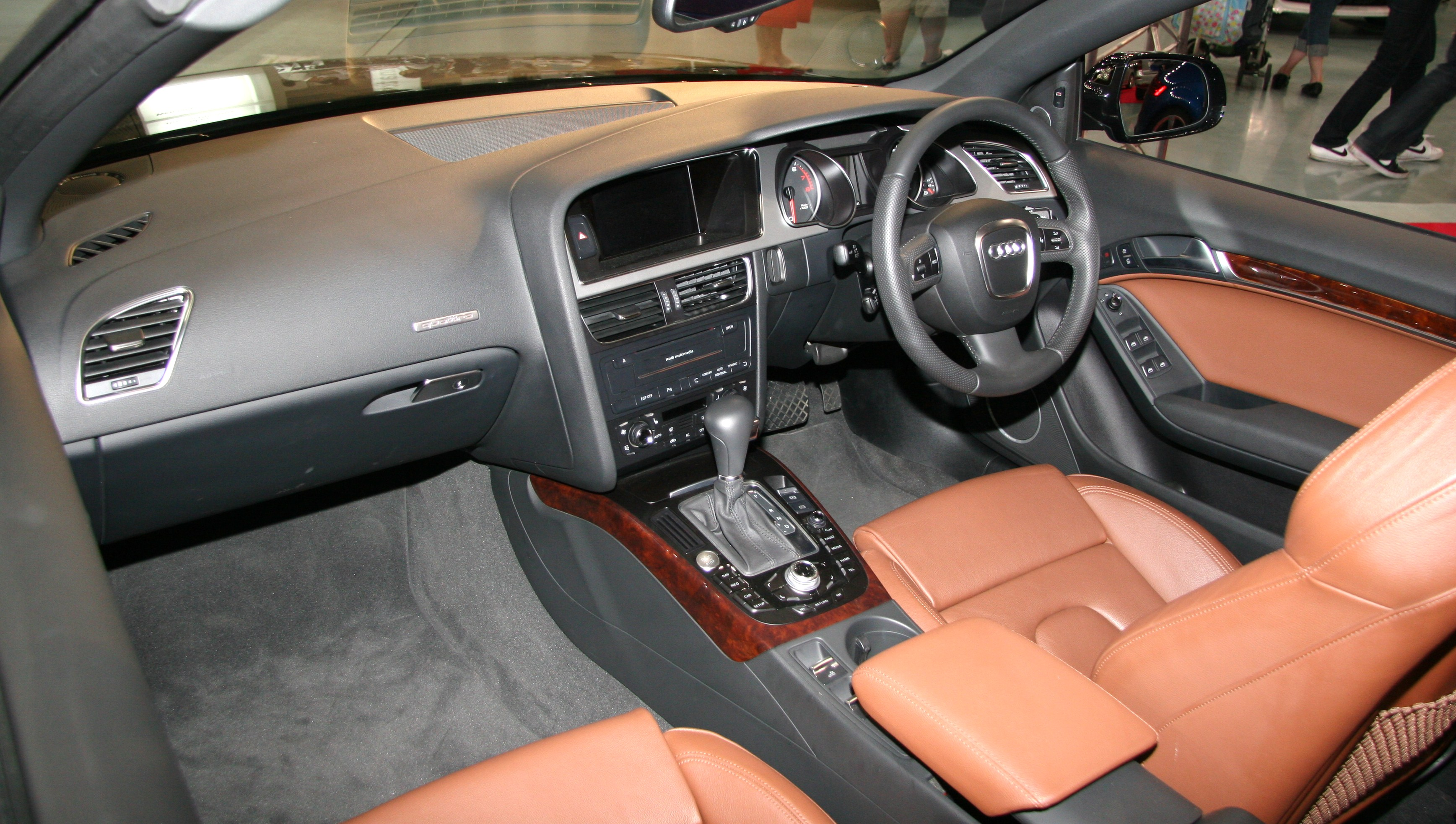 File Audi A5 Cabriolet Interior Jpg Wikimedia Commons