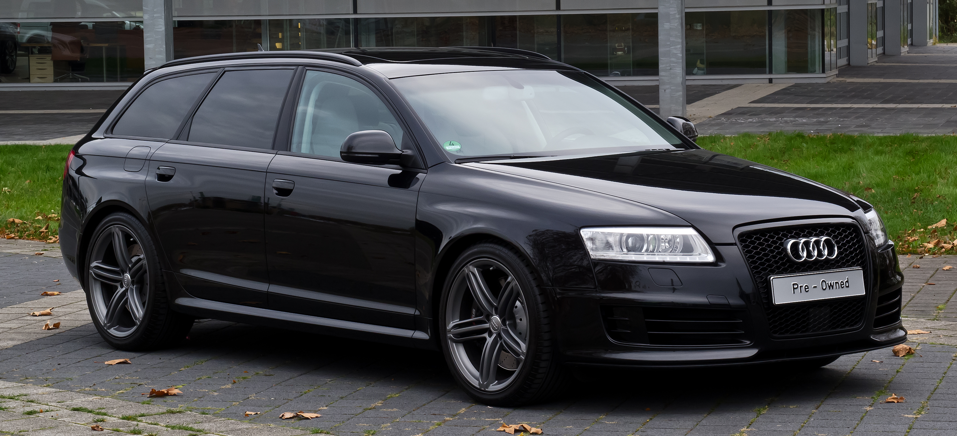 File Audi Rs 6 Avant C6 Frontansicht 1 26 Oktober