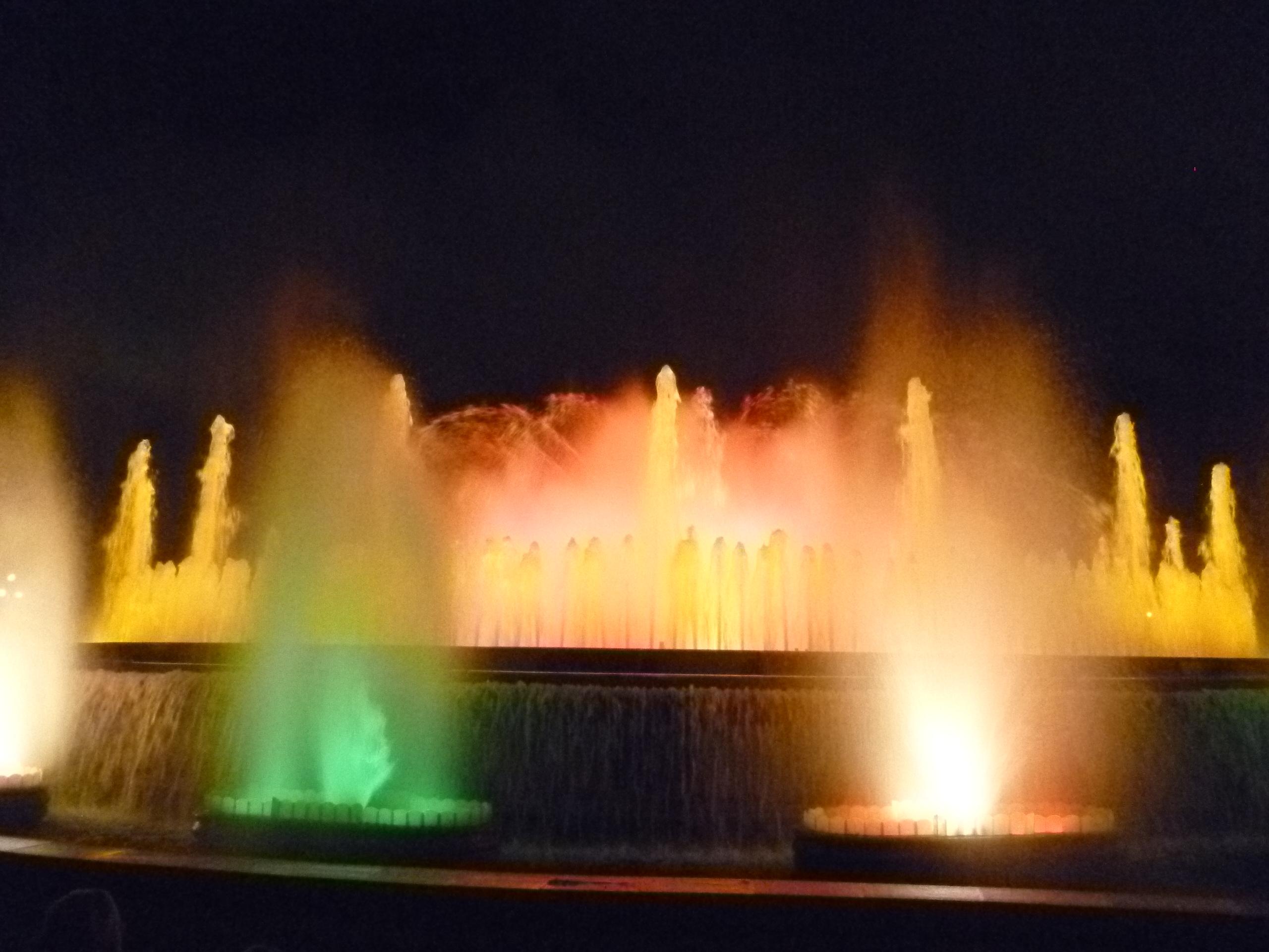 English: The Magic Fountain (Font Magica), a s...