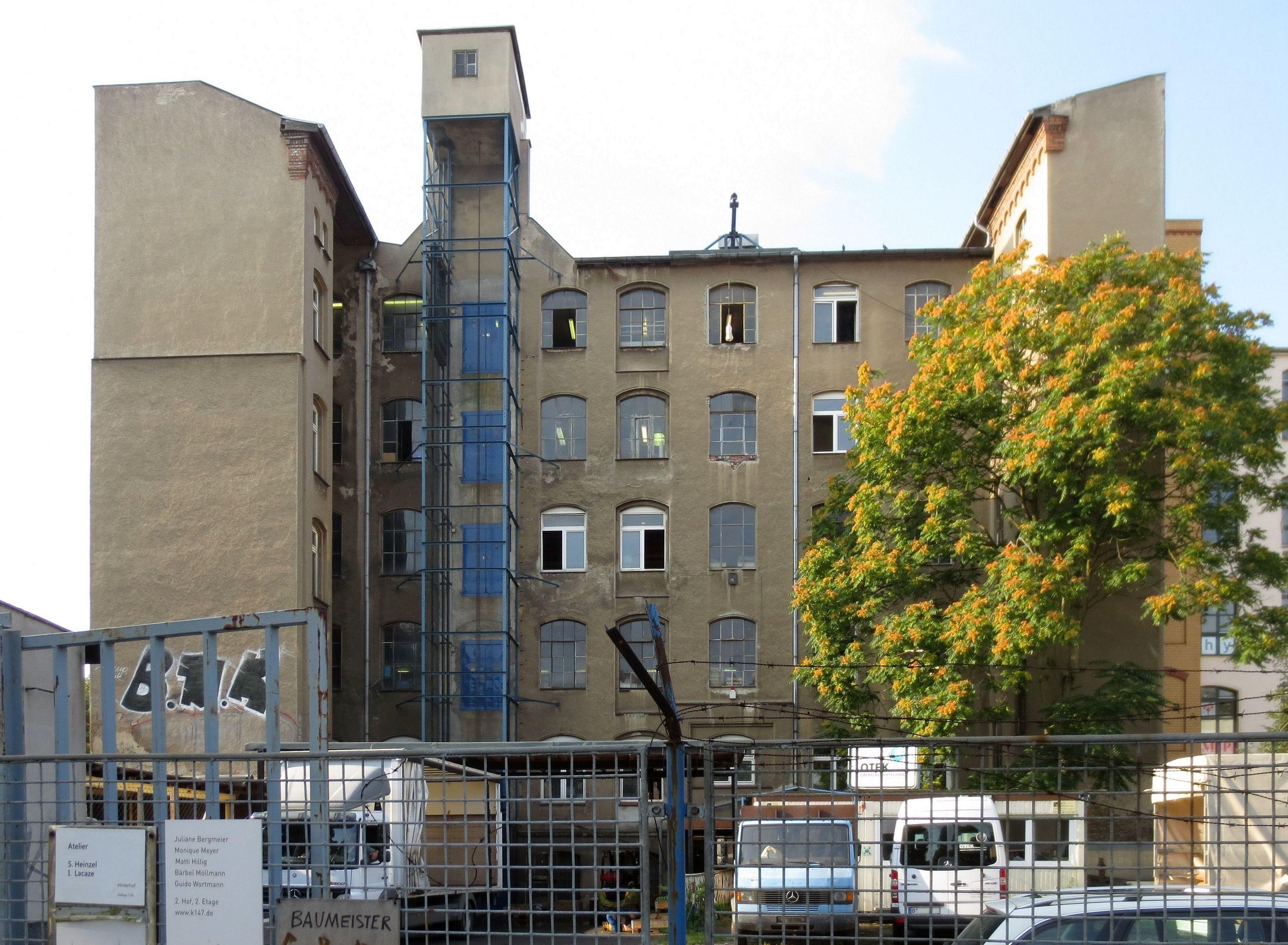 file berlin kreuzberg koepenicker strasse 146 147 filzhutfabrik zechelius und. Black Bedroom Furniture Sets. Home Design Ideas