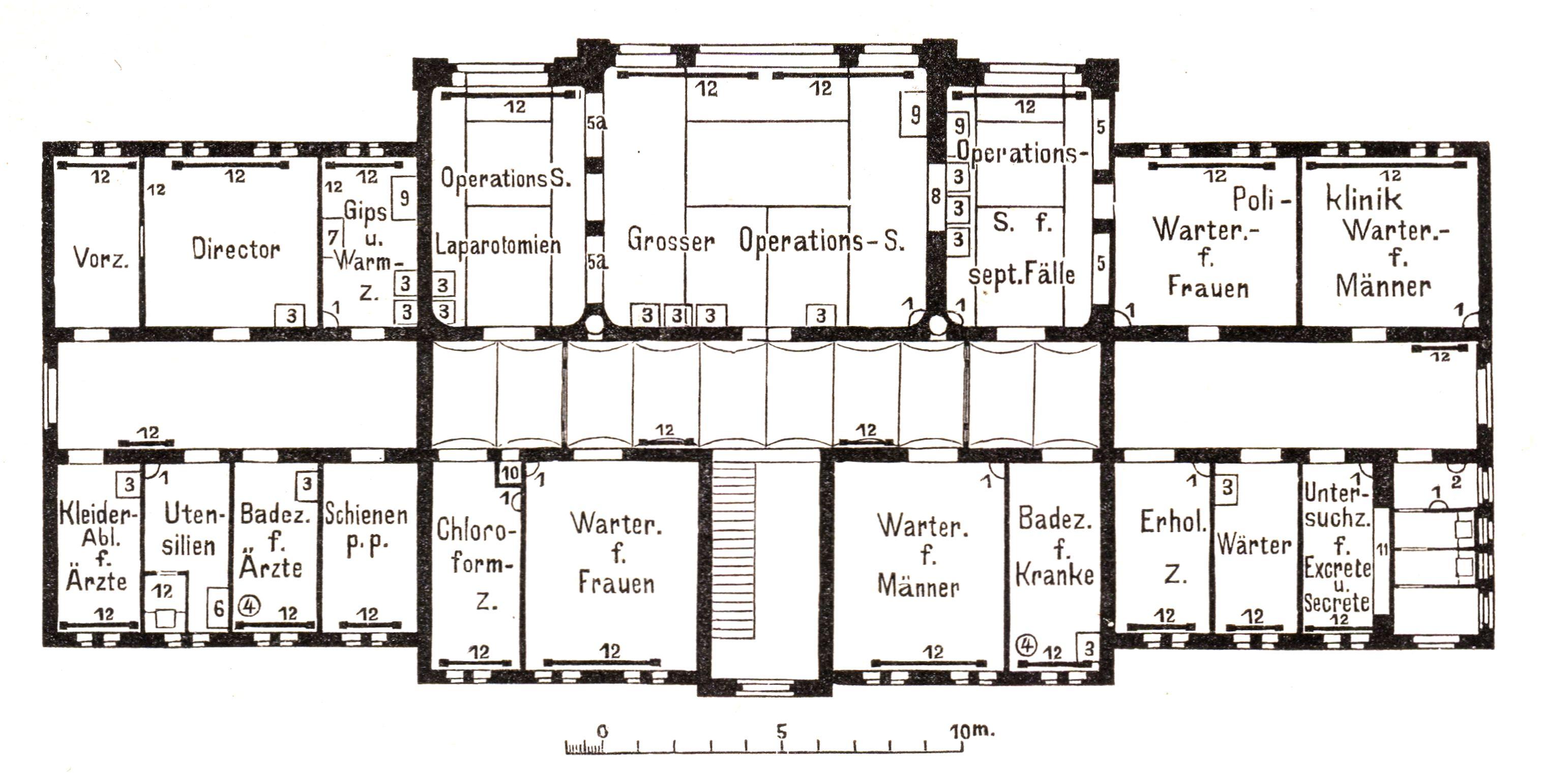 File:Berlin Krankenhaus Moabit Grundriss Operationshaus ...