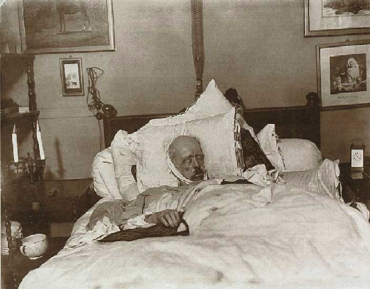Bismarck on his deathbed