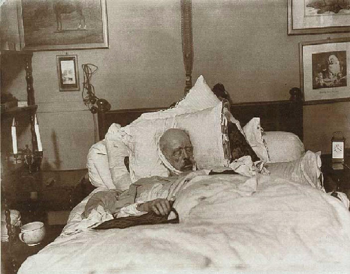 Bismarck on his deathbed