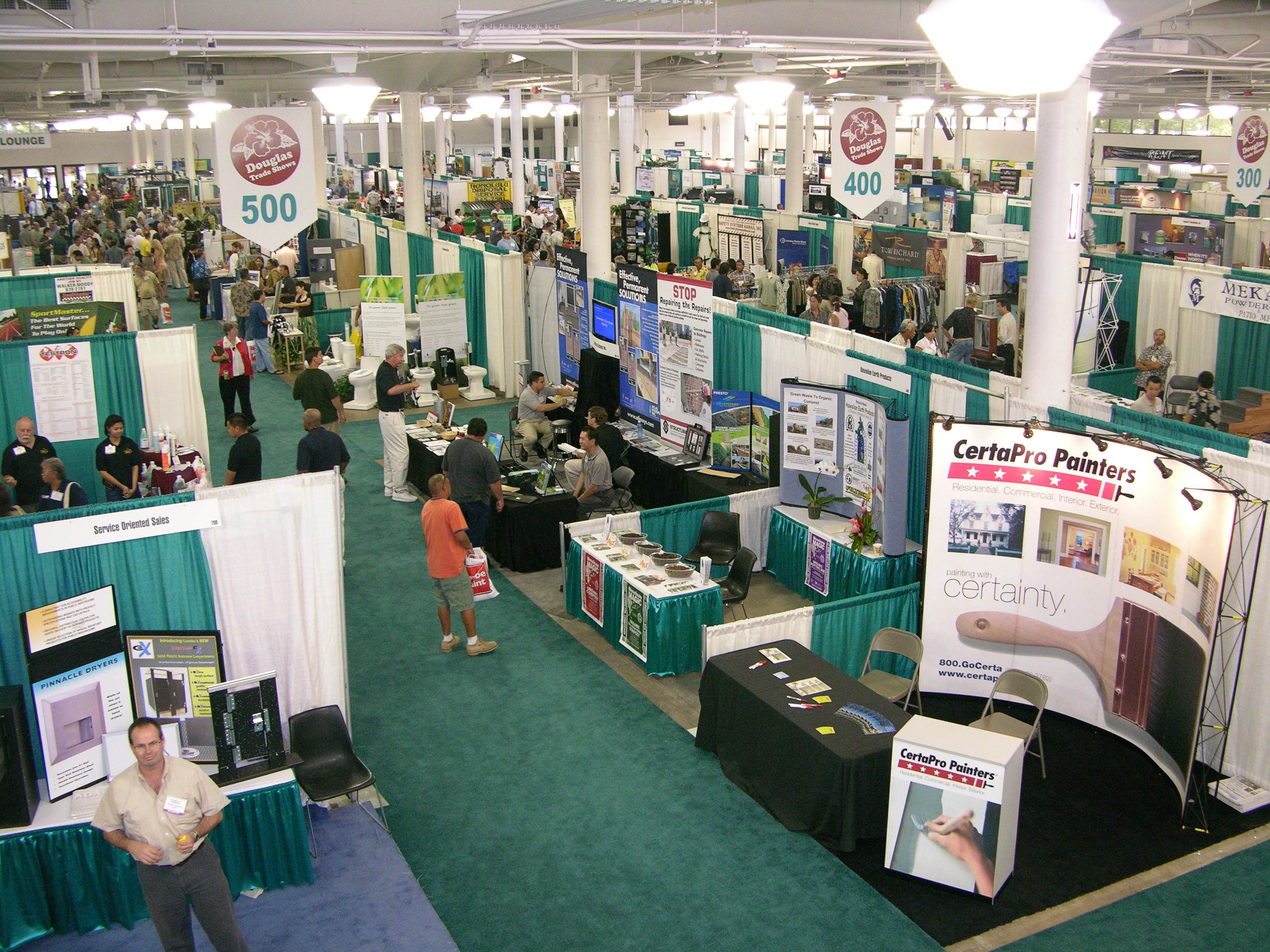 Exhibition Booth Wiki : Neal s blaisdell center