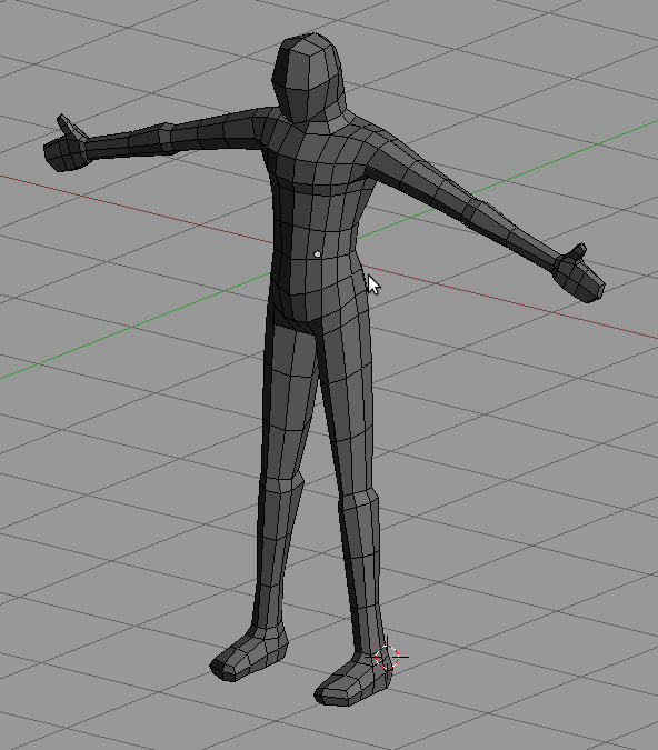 Blender Character Modeling 8 Of 10 : Blender d noob to pro illustrative example modeling a