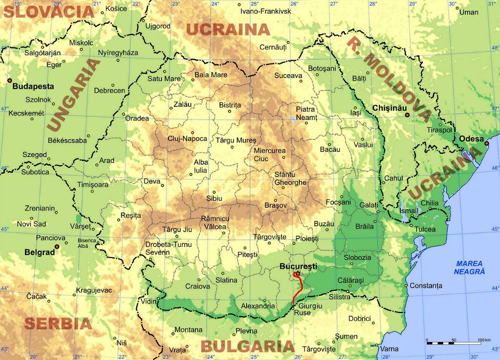 File Bucuresti Giurgiu Jpg Wikimedia Commons