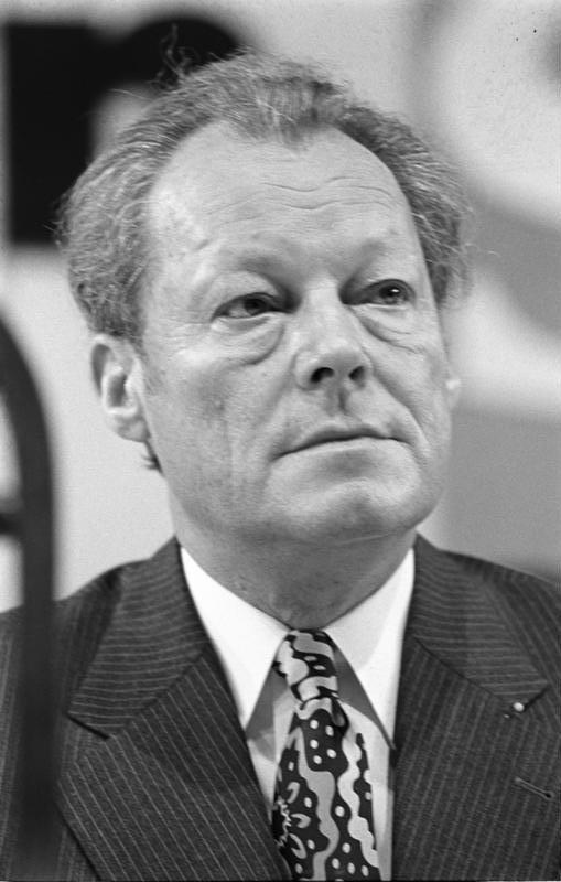 Resultado de imagen para Willy Brandt