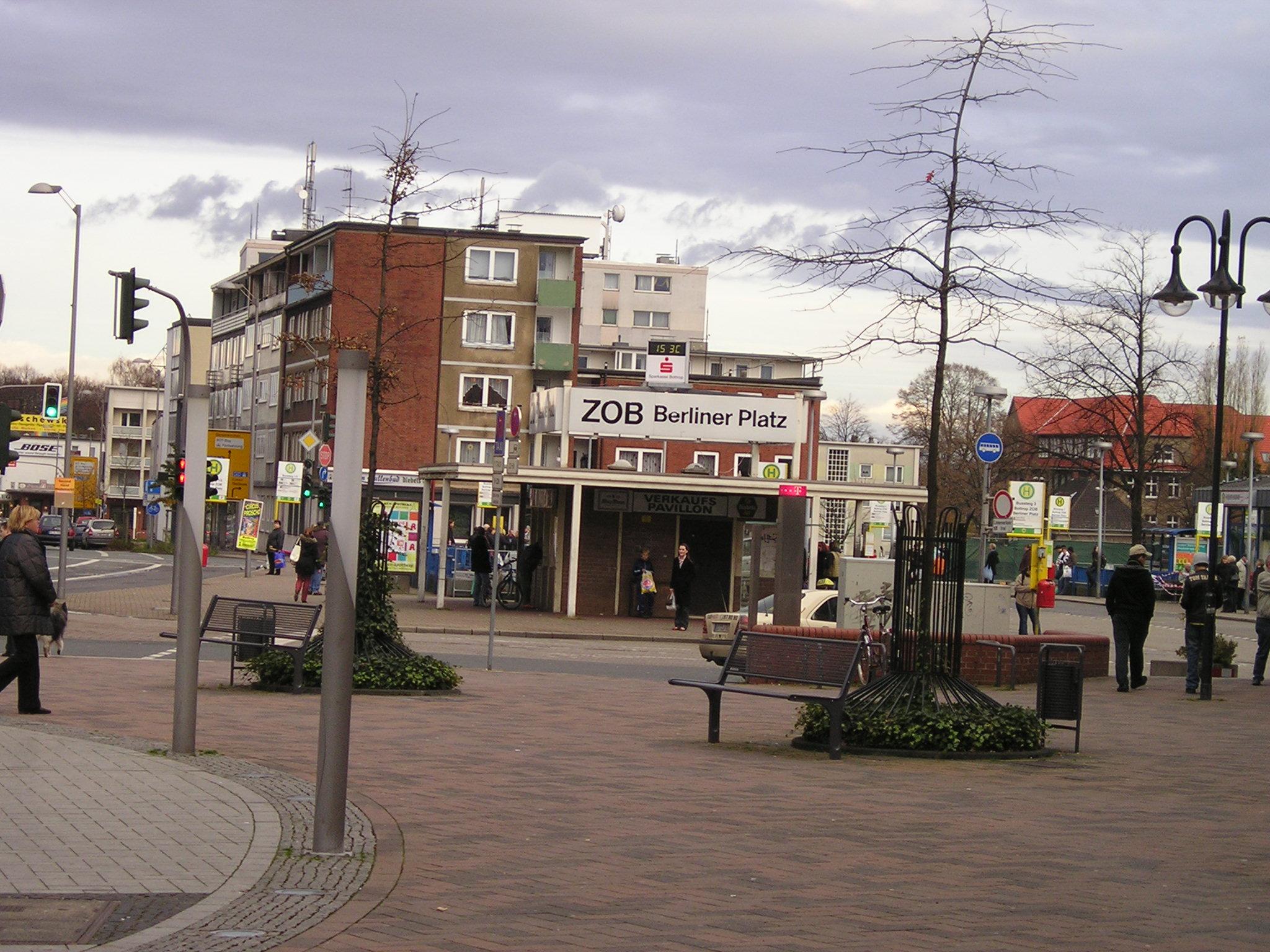 datei busbahnhof zob berliner platz bottrop jpg wikipedia. Black Bedroom Furniture Sets. Home Design Ideas