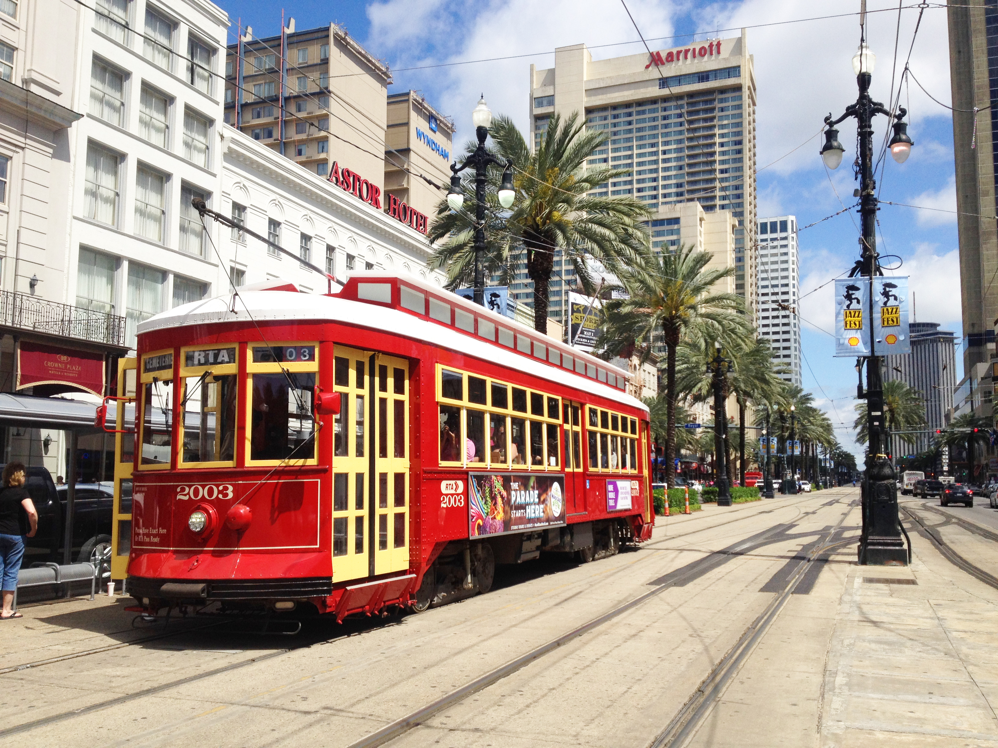 New Orleans Street Cars: File:Canal Streetcar In New Orleans.jpg