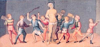 Innocenzo Francucci (ca 1494-ca 1550): Martirio di San Cassiano (ca 1500)