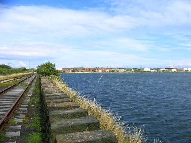 Cavendish Dock, Barrow from railway sidings - geograph.org.uk - 34423