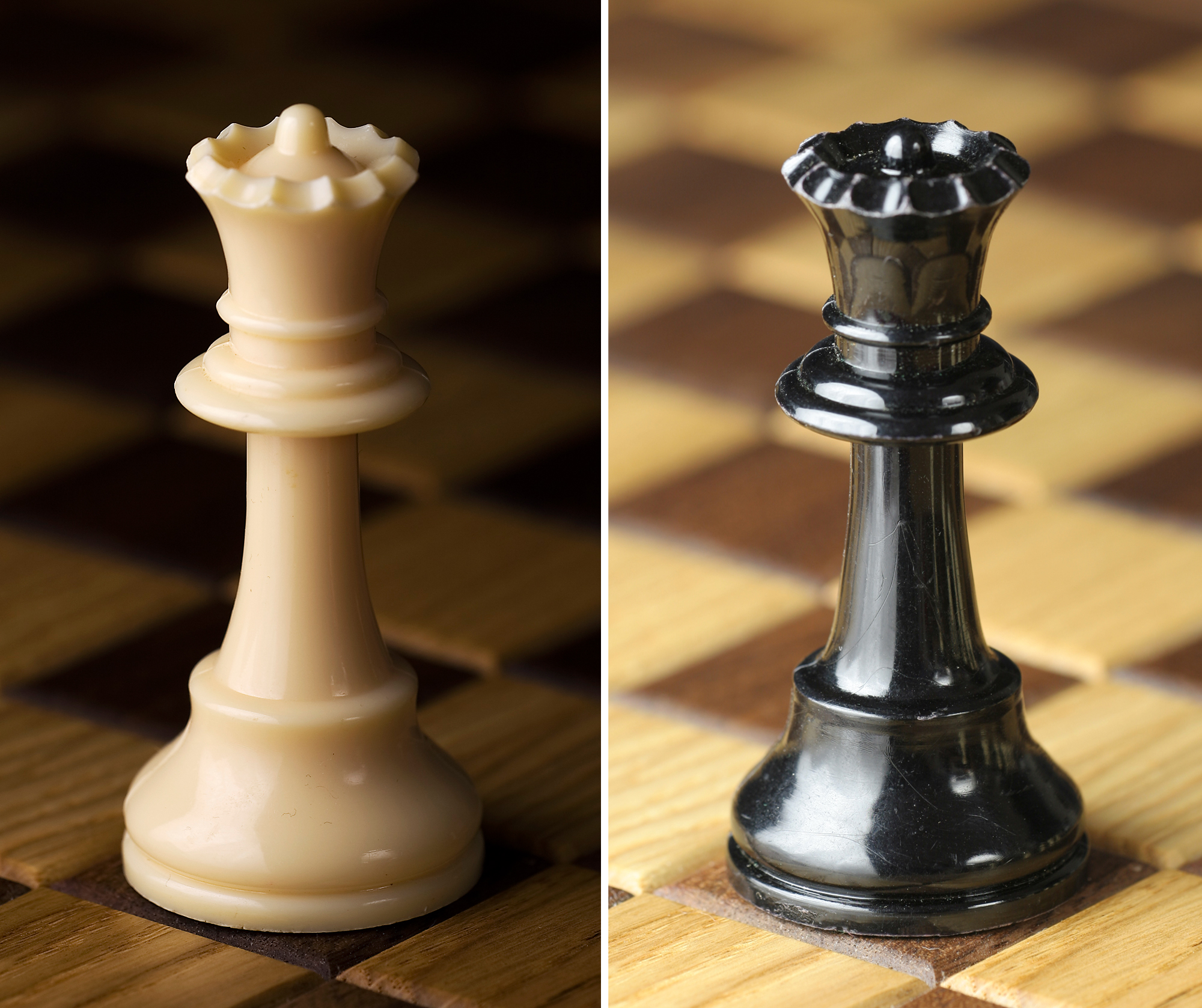 File Chess Piece White And Black Queen Jpg