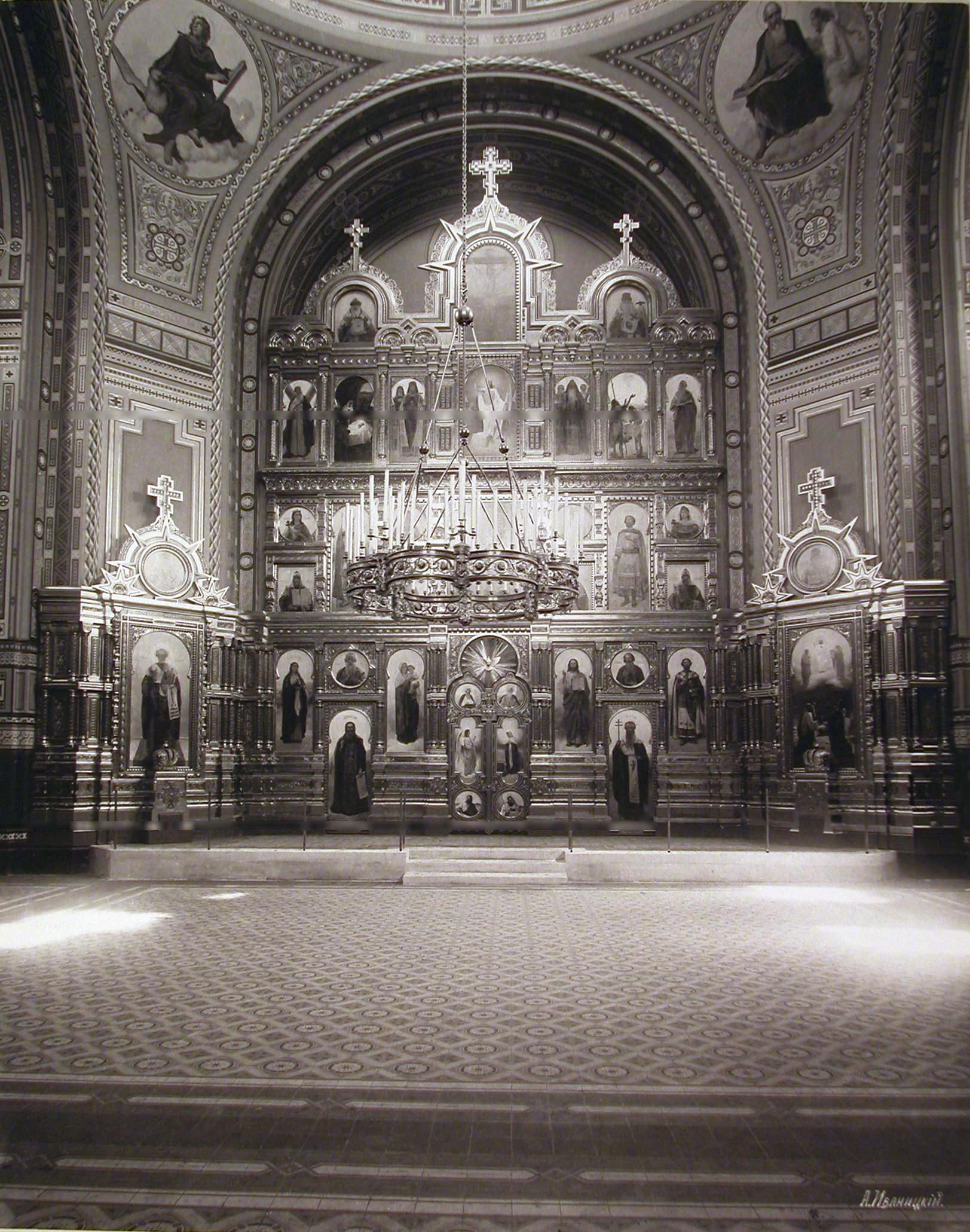 Filechrist The Savior Cathedral In Borki Interior View 2