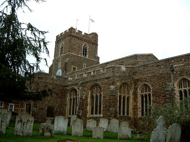 Church of St. Andrew the Apostle, Ampthill - geograph.org.uk - 155592