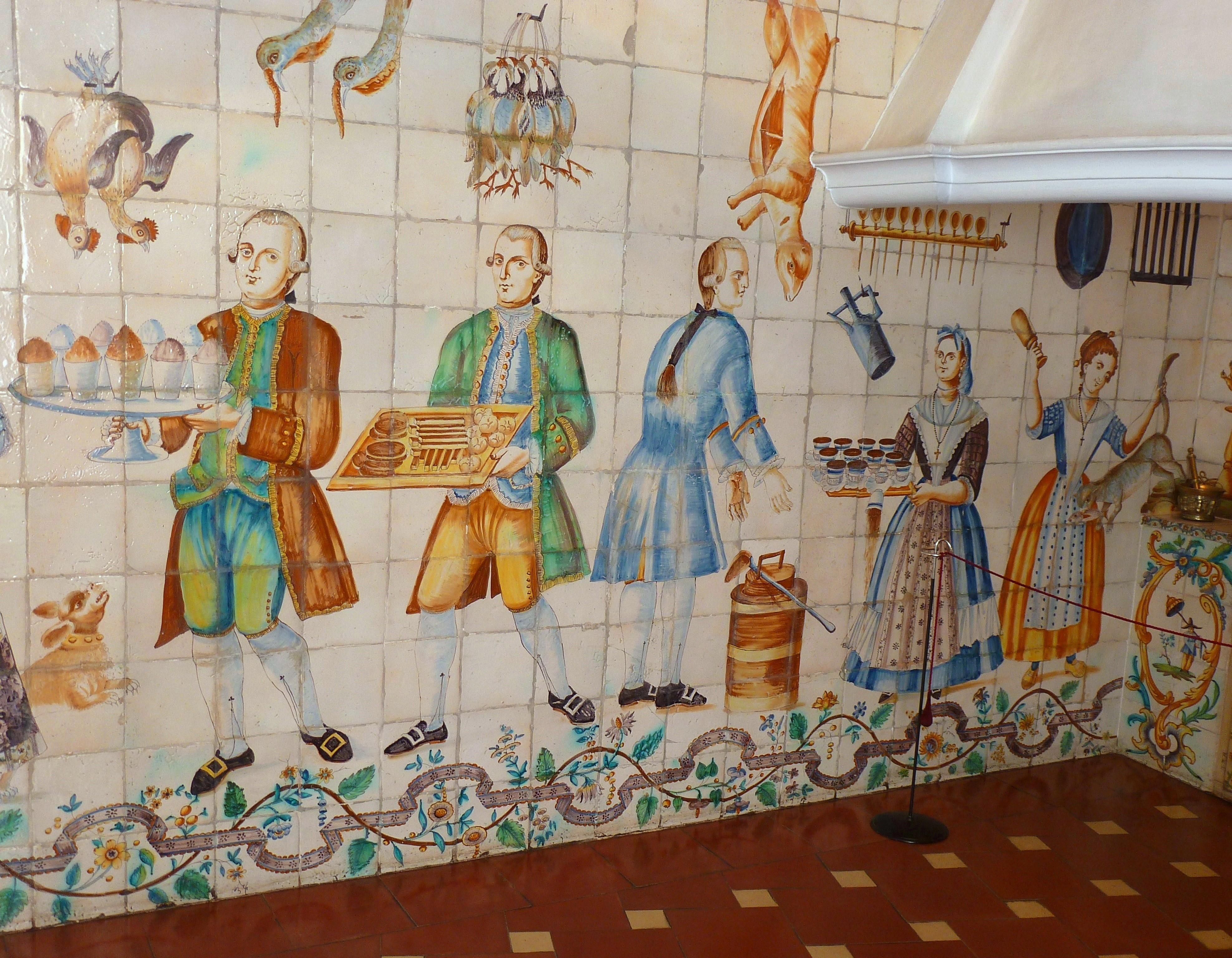File cocina valenciana mnad detalle jpg wikimedia commons for Cocina valenciana