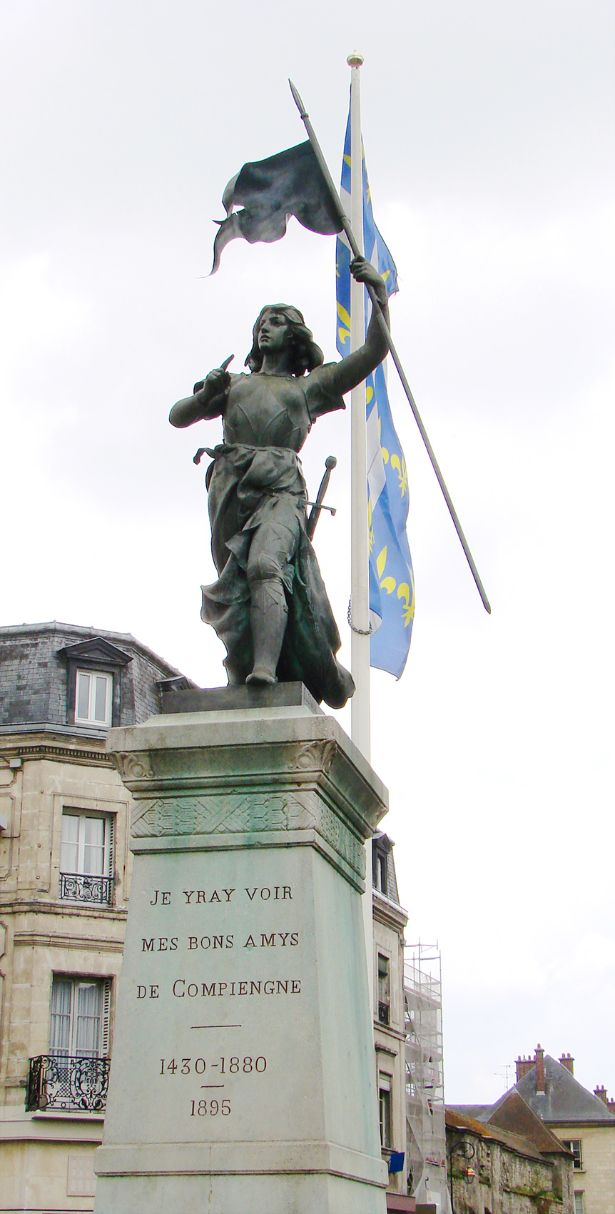 Jeanne d'Arc in Compiègne